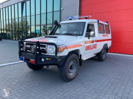 Furgoneta ambulancia Toyota Land Cruiser 4×4 VDJ78L 4.5 V8 Ambulance (NEW) – Complete with BLS Equipment – Only for sale outside the EU / Fully Equipped