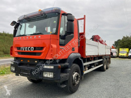 Iveco EuroTrakker AD260T360 6x4 truck used flatbed