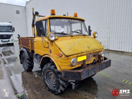 Camion Mercedes Unimog 1223 406 benne occasion