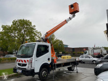 Utilitaire nacelle Renault Maxity 120 DXI + MULTITEL AERIAL PLATFORM 16 METER