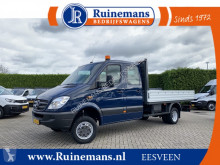 Mercedes Sprinter 516 CDI 164 PK 4x4 L3 / PICK UP / 3.500 KG AHG / 7 PERS. DUBBEL CABINE / 3.5 T TREKHAAK / AIRCO / DUBBEL LUCHT / DUBBELE CABINE used flatbed van