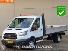 Ford Transit 2.0 TDCI 130PK Open Laadbak Dubbellucht Airco Euro6 A/C used flatbed van