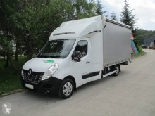 Renault Master 170 DCI used curtainside van