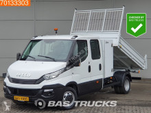 Utilitaire benne Iveco Daily 35C14 Automaat Kipper DC 3500kg trekhaak Tipper A/C Double cabin Towbar Cruise control
