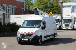 Utilitaire nacelle Renault Master Dci Versalift ETL26 11m/551h/Klima/HU+UVV