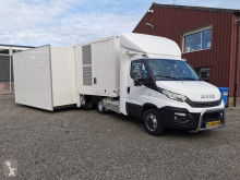 Utilitaire Iveco 40C21 BE Trekker + Kuiper 1-as Schuifwand / Airconditioning / 7.5kva Generator (A28)