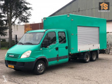 Fourgon utilitaire Iveco FOOD TRUCK - CLICKSTAR - DOUBLE CABIN - NL BE COMBI - TOP!