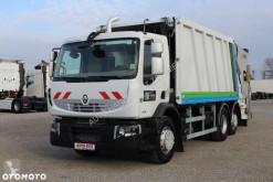 Furgão comercial Renault 380 DXI / EURO 5 / ŚMIECIARKA FAUN 24 m / KLIMA / OŚ PODNOSZONA SKRĘTNA /**SERWIS**/ STAN IDEALNY /