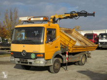 Mercedes three-way side tipper truck Atego 815 K 2-Achs Kipper Kran