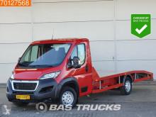 Utilitaire porte voitures Peugeot Boxer 435 2.0 HDI 163PK Autotransporter Airco Lier Euro6 Ambulance A/C Towbar
