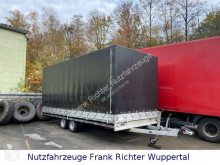 Hulco tarp trailer Medax 3 T Autotransporter Mit Fahrrampen