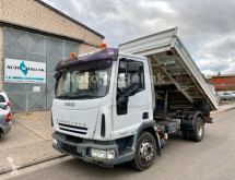 Iveco Eurocargo EuroCargo 80E22 Euro 5 Meiller 3 S. Kipper truck used three-way side tipper