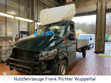 Volkswagen Crafter,Unfall,2.0TDI,Motor&am laufen super utilitaire plateau ridelles occasion