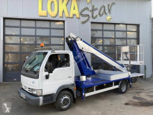 Nissan Cabstar 35.10 used telescopic platform commercial vehicle