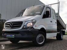 Mercedes Sprinter 513 cdi dubbele cabine k nyttobil med flak begagnad