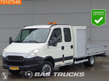 Utilitaire plateau Iveco Daily 40C17 3.0 Luchtvering Airco Open Laadbak Pritsche A/C Double cabin Towbar Cruise control