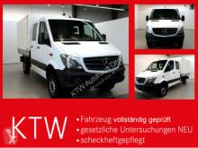 Mercedes Sprinter 316CDI DOKA,Allrad,AHK3,5Tonnen nyttobil med flak häckar begagnad