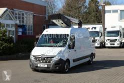 Veículo utilitário carrinha comercial plataforma Renault Master Versalift ET-36-LF 13m/2P.Korb 200kg/Navi