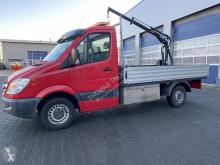 Furgoneta Mercedes Sprinter 316 CDI, HIAB 008 T, EURO 5 EEV, 340 x 205 cm furgoneta caja abierta usada
