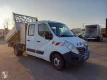 Utilitaire benne standard Renault Master 165 DCI .35 7 Places +BENNE + COFFRE