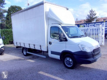 Iveco Daily 35C13 used tarp covered bed flatbed van