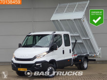 Open bakwagen Iveco Daily 35C14 Kipper DC 3.5T trekhaak Airco Cruise Tipper Benne A/C Double cabin Towbar Cruise control