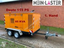 Material de obra generador Deutz AVS Deutz Generator Stromaggregat 85 KVA