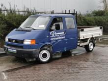 Volkswagen flatbed van Transporter 2.4 D open laadbak dubbel