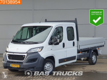 Peugeot Boxer 2.2 HDI 130PK Open Laadbak Dubbel Cabine Trekhaak Airco A/C Double cabin Towbar лекотоварен автомобил платформа втора употреба