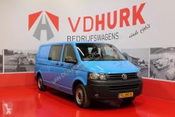 Volkswagen Transporter 2.0 TDI 140 pk L2H1 DC Dubbel Cabine Navi/Cruise/Airco/Trekhaak tweedehands bestelwagen