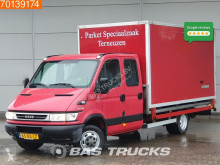 Iveco Daily 50C14 3.0 n1 Doka Koffer and Open box Bakwagen Pritsche Double cabin Towbar used cargo van