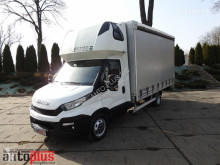 Tarp varevogn Iveco DAILY35S17 PLANDEKA 10 PALET KLIMA WEBASTO TEMPOMAT PNEUMATYKA