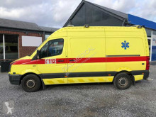 Ambulance Volkswagen Crafter Ambulance Belgian registration