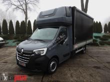Renault haszongépjármű ponyvával felszerelt platós MASTER