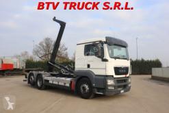 Camion MAN TGS 26 480 SCARRABILE CON GANCIO MEILLER EURO 5 polybenne occasion