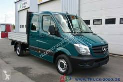 Furgoneta furgoneta caja abierta teleros Mercedes Sprinter 213 CDI 6 Sitze AHK Standheizung Klima