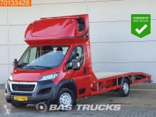 Utilitaire porte voitures Peugeot Boxer 2.0 Blue HDI 163PK Autotransporter Lier Airco Euro6 Oprijwagen A/C Towbar