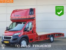 Utilitaire porte voitures Peugeot Boxer 2.0 HDI 163PK Autotransporter Lier Airco Oprijwagen Cartransporter A/C Towbar