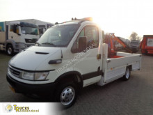 عربة نفعية عربة نفعية منصة Iveco Daily 40C17 + Manual + Palfinger Crane
