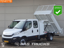 Pick-up varevogn Iveco Daily 35C14 Kipper Kist 3500kg trekhaak Airco Cruise Tipper Benne A/C Double cabin Towbar Cruise control
