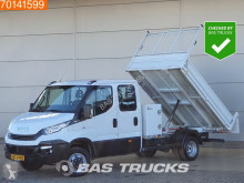 Iveco Daily 35C14 Kipper met kist 3500kg trekhaak DC Airco Cruise Tipper Benne A/C Double cabin Towbar Cruise control utilitaire benne occasion