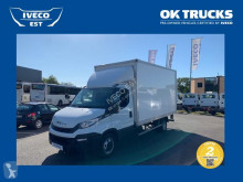Utilitaire châssis cabine Iveco Daily CCb 35C16 - Caisse 20m3 + hayon - 26 900 HT