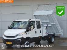 Nyttobil med flak Iveco Daily 35C14 140PK Kipper DC Kist 3500kg trekhaak Airco Benne A/C Double cabin Towbar Cruise control