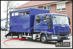 Camión remolque ganadero Iveco ML80E18D, 7 Sitze, Doka Tüv 11/21