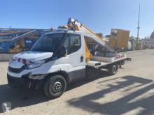 Veículo utilitário carrinha comercial plataforma telescópico Iveco Daily