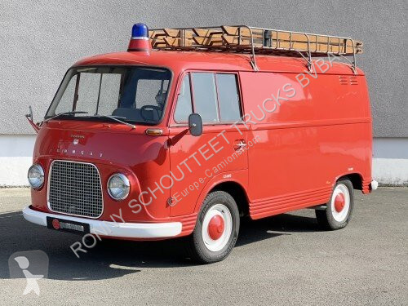 Zobaczyć zdjęcia Pojazd dostawczy Ford Taunus Transit 1250 Feuerlöschfahrzeug  Transit 1250 Feuerlöschfahrzeug