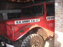 Camion militaire Dodge Dodge M37 USA Army Fire Department 3700cc