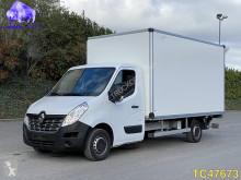 Veículo utilitário carrinha comercial caixa grande volume Renault Master Box with lift Euro 6