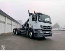 Mercedes Actros 2541 NLG POLYBENNE EURO 6 used commercial vehicle ampliroll / hook lift