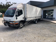 Mitsubishi Fuso curtainside van Canter